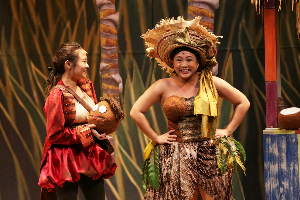Ann Lek and Kimberly Chan in TLC's Treasure Island