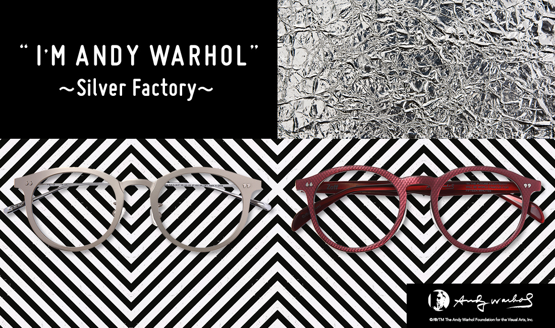 """2f74cb7dea Make a statement with the eyewear from the """"Silver Factory"""". Named after  the atelier of Warhol that existed in New York in the"""